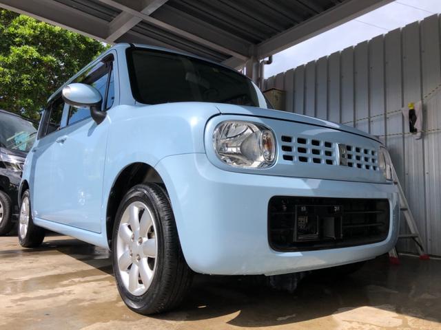 沖縄県の中古車ならアルトラパン 2年保証 X スマートキー ワンオーナー 本土車