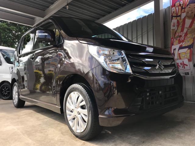 沖縄の中古車 スズキ ワゴンR 車両価格 75万円 リ済込 2014(平成26)年 4.0万km ブラウンM