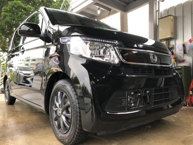 沖縄の中古車 ホンダ N-WGN 車両価格 57万円 リ済込 2014(平成26)年 7.5万km ブラックM