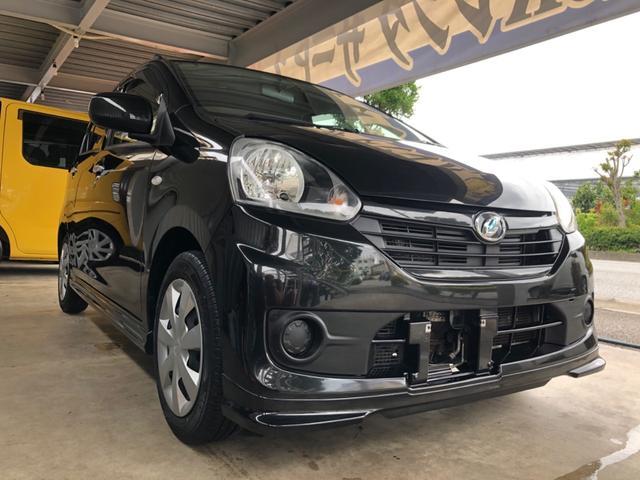 沖縄の中古車 ダイハツ ミライース 車両価格 37万円 リ済込 2015(平成27)年 9.6万km ブラックM