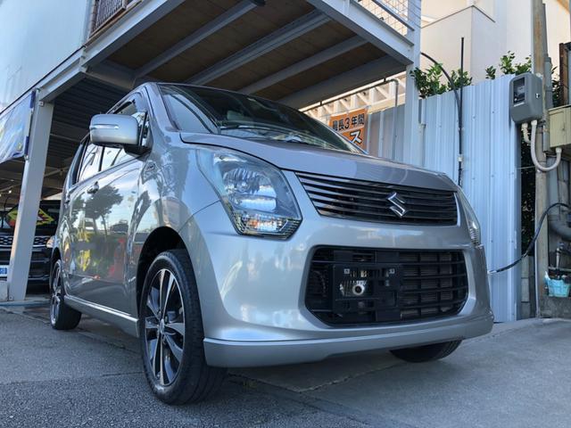 沖縄の中古車 スズキ ワゴンR 車両価格 42万円 リ済込 2013(平成25)年 10.5万km グレーM