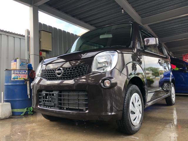 沖縄の中古車 日産 モコ 車両価格 36万円 リ済込 2015(平成27)年 12.4万km ブラウンM