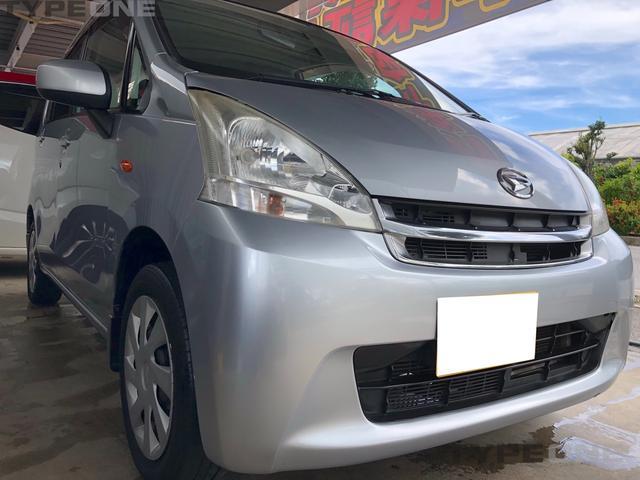 沖縄の中古車 ダイハツ ムーヴ 車両価格 21万円 リ済込 2011(平成23)年 13.4万km シルバーM