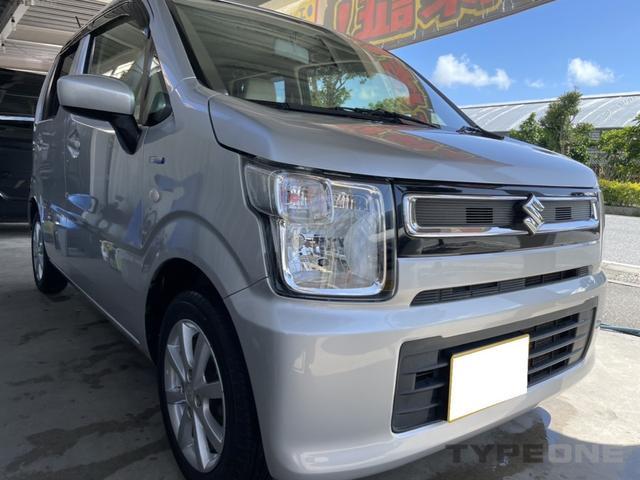 沖縄の中古車 スズキ ワゴンR 車両価格 56万円 リ済込 2017(平成29)年 13.8万km シルバーM
