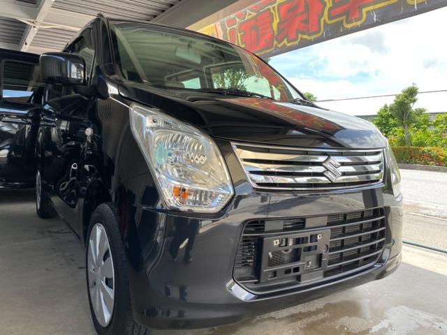 沖縄の中古車 スズキ ワゴンR 車両価格 29万円 リ済込 2014(平成26)年 8.3万km ブラックM