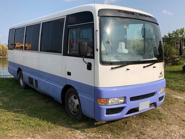 沖縄県の中古車ならシビリアンバス 10名乗り 福祉車両