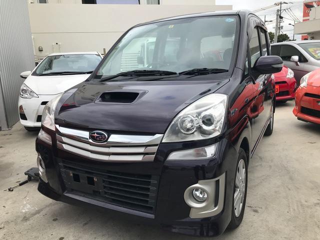沖縄の中古車 スバル ステラ 車両価格 35万円 リ済込 2010(平成22)年 8.6万km パープルM