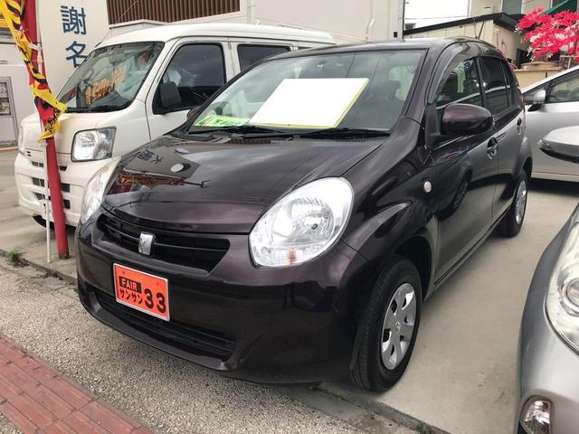 沖縄の中古車 トヨタ パッソ 車両価格 35万円 リ済込 2011(平成23)年 4.3万km ブラウン