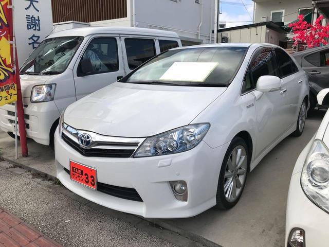 沖縄県の中古車ならSAI S スマートキー アルミ 盗難防止システム