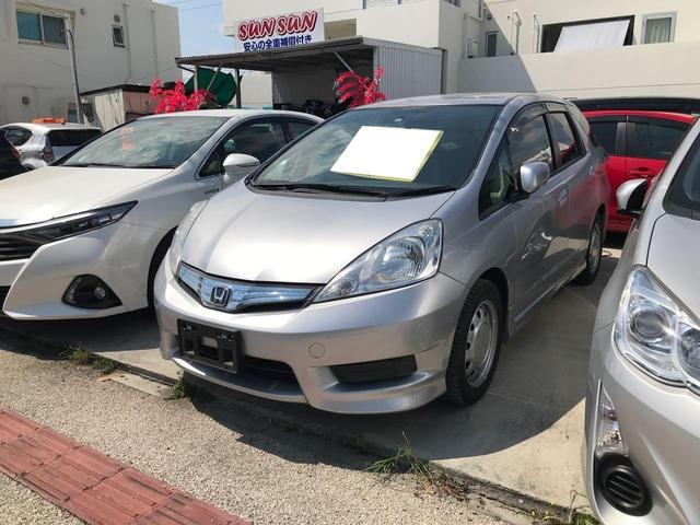 沖縄県の中古車ならフィットシャトルハイブリッド ハイブリッド 盗難防止システム アイドリングストップ