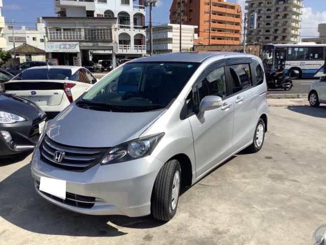 沖縄の中古車 ホンダ フリード 車両価格 43万円 リ済込 2009(平成21)年 6.0万km シルバーM