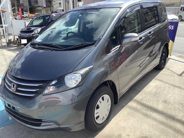 沖縄の中古車 ホンダ フリード 車両価格 43万円 リ済込 2010(平成22)年 7.6万km ガンM