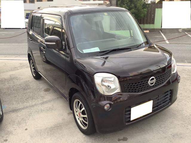 沖縄の中古車 日産 モコ 車両価格 49万円 リ済込 2012(平成24)年 2.6万km ブラウン