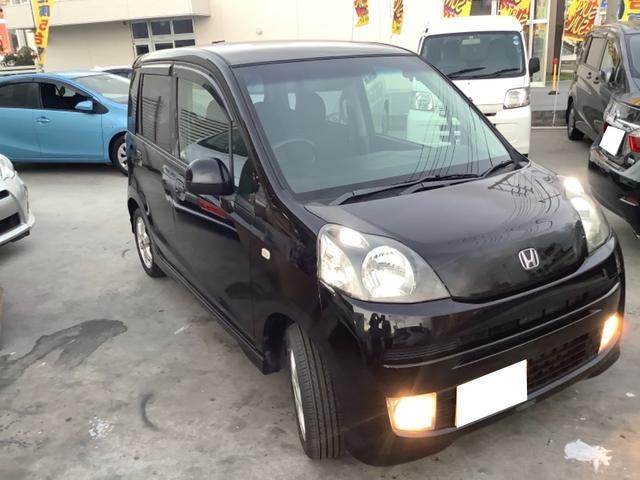 沖縄の中古車 ホンダ ライフ 車両価格 29万円 リ済別 2009(平成21)年 9.1万km ブラック