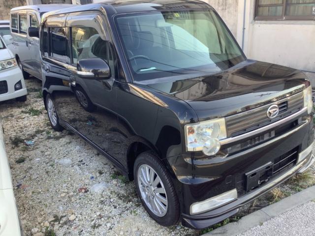 沖縄の中古車 ダイハツ ムーヴコンテ 車両価格 38万円 リ済込 2009(平成21)年 7.6万km ブラック