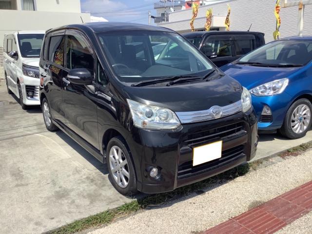 沖縄の中古車 ダイハツ ムーヴ 車両価格 39万円 リ済込 2011(平成23)年 8.0万km ブラック