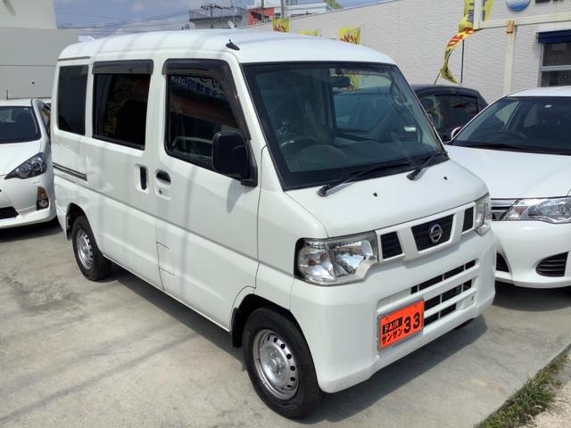 沖縄の中古車 日産 NV100クリッパーバン 車両価格 35万円 リ済込 2012(平成24)年 7.6万km ホワイト