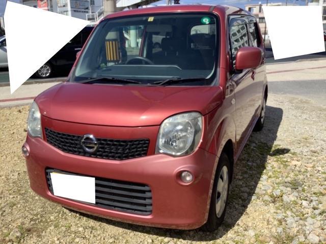 沖縄の中古車 日産 モコ 車両価格 39万円 リ済込 2011(平成23)年 4.8万km ピンク