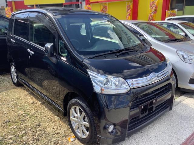沖縄の中古車 ダイハツ ムーヴ 車両価格 38万円 リ済込 2012(平成24)年 2.2万km ブラック
