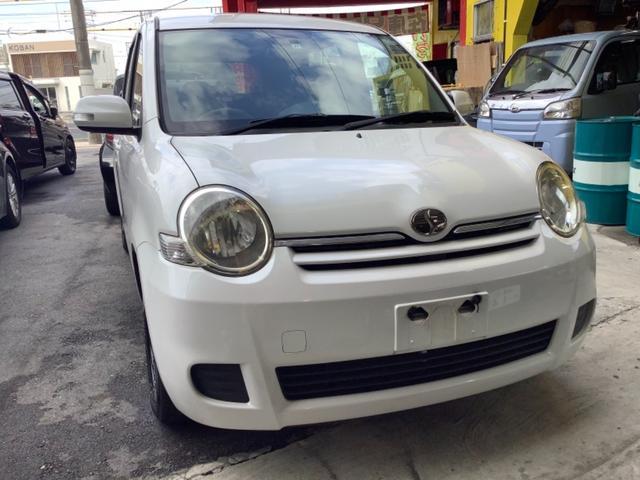 沖縄の中古車 トヨタ シエンタ 車両価格 33万円 リ済込 2009(平成21)年 5.7万km パール