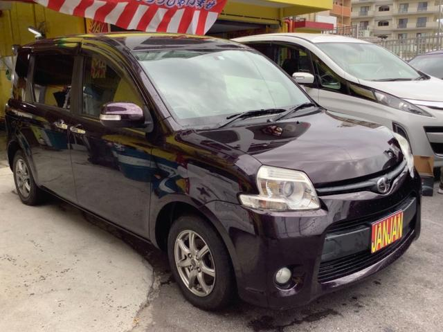 沖縄の中古車 トヨタ シエンタ 車両価格 43万円 リ済込 2012(平成24)年 9.2万km ワイン
