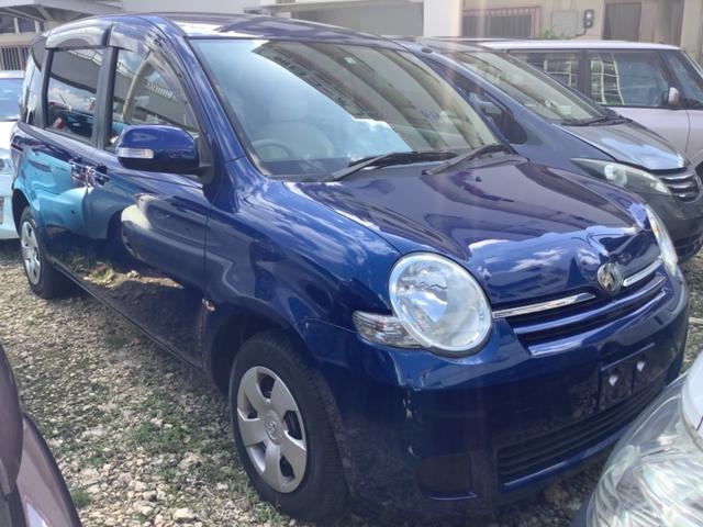 沖縄の中古車 トヨタ シエンタ 車両価格 32万円 リ済込 2010(平成22)年 4.8万km ブルー