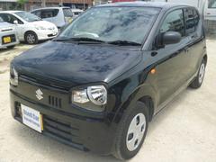 沖縄の中古車 スズキ アルト 車両価格 69万円 リ済込 平成29年 0.7万K ブラック
