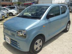 沖縄の中古車 スズキ アルト 車両価格 69万円 リ済込 平成29年 0.5万K ライトブルー
