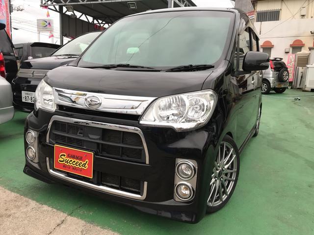 沖縄の中古車 ダイハツ タントエグゼ 車両価格 69万円 リ済込 2012(平成24)後 8.7万km DブラックM