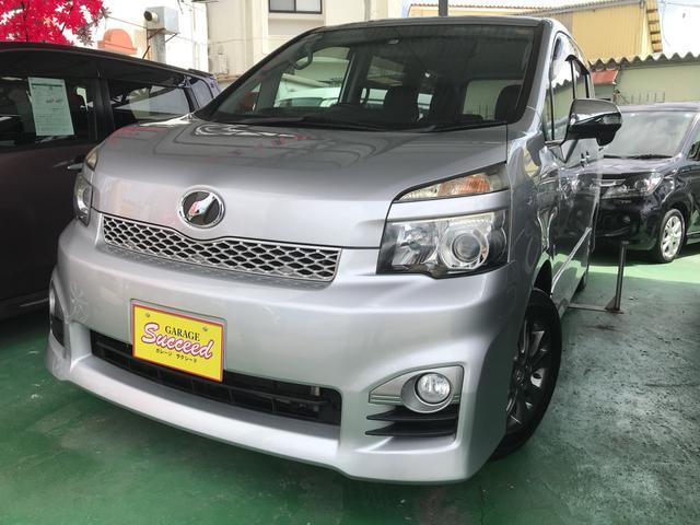 沖縄の中古車 トヨタ ヴォクシー 車両価格 99万円 リ済込 2010(平成22)後 9.4万km グレーM