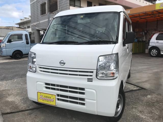 沖縄の中古車 日産 NV100クリッパーバン 車両価格 69万円 リ済込 2018(平成30)年 9.9万km ホワイト
