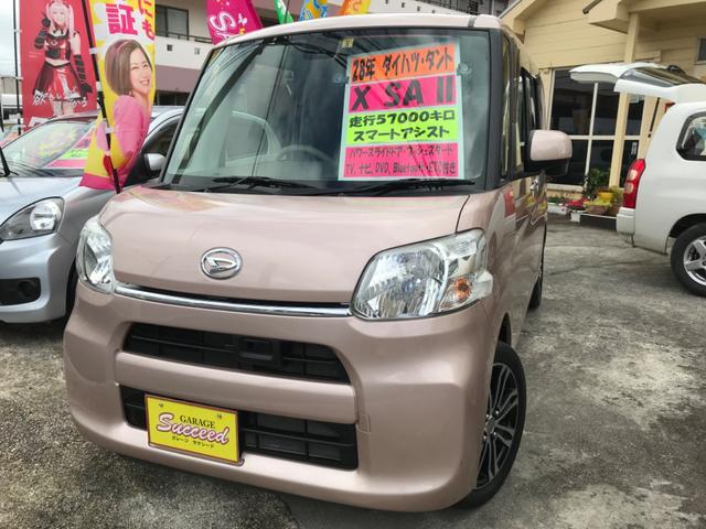 沖縄の中古車 ダイハツ タント 車両価格 89万円 リ済込 2016(平成28)年 5.7万km ピンク