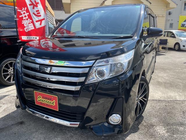 沖縄の中古車 トヨタ ノア 車両価格 149万円 リ済込 2015(平成27)年 8.8万km ブラック
