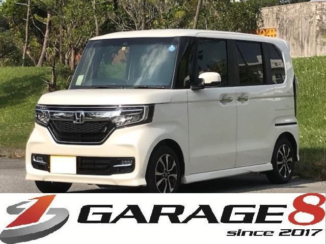 沖縄県の中古車ならN-BOXカスタム G・Lホンダセンシング  カーナビ/バックモニター/ETC