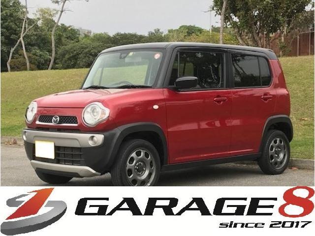 沖縄県の中古車ならフレアクロスオーバー XG ハイブリッド レーダーブレーキサポート 2年保証
