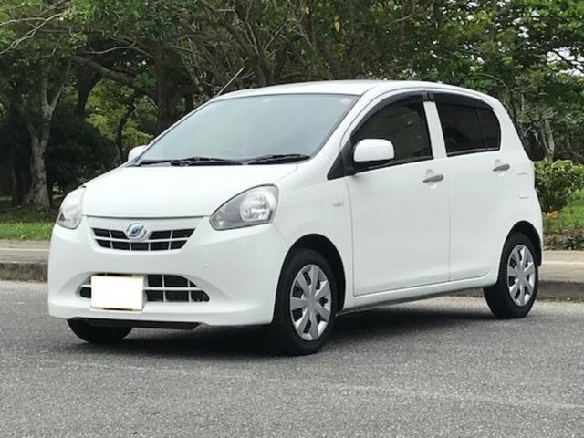 沖縄県の中古車ならミライース X カーナビ/ETC/2年保証