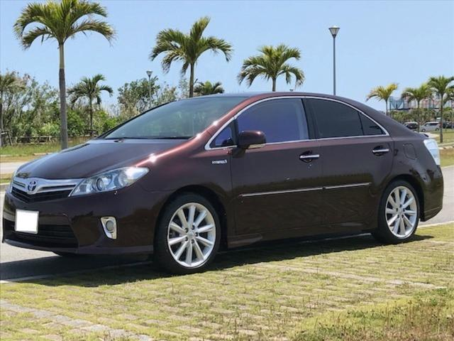 沖縄の中古車 トヨタ SAI 車両価格 129万円 リ済込 2010(平成22)年 1.0万km ワインM