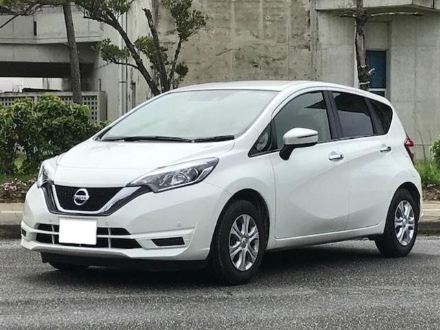 沖縄県の中古車ならノート X 3年保証 エマージェンシーブレーキ バックカメラ カーナビ(Bluetooth・AUX・USB)