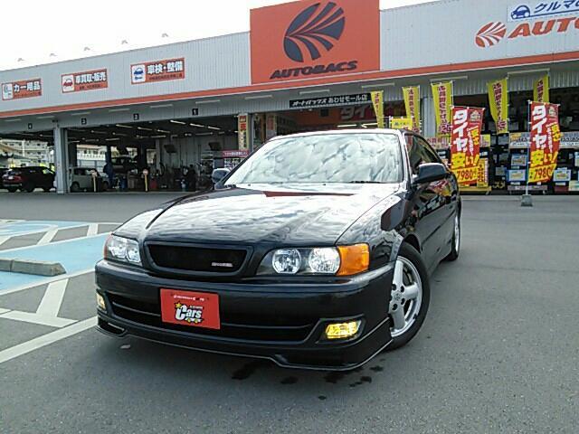 沖縄の中古車 トヨタ チェイサー 車両価格 158万円 リ済別 2000(平成12)年 12.6万km Dグリーン