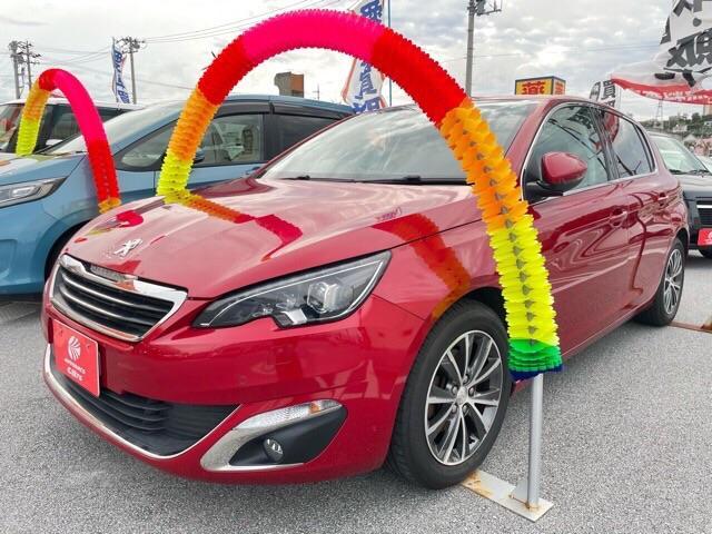 沖縄県沖縄市の中古車なら308 アリュール Wエアバック サイドエアバック パワーステアリング ABS パワーウィンドウ CD アルミ
