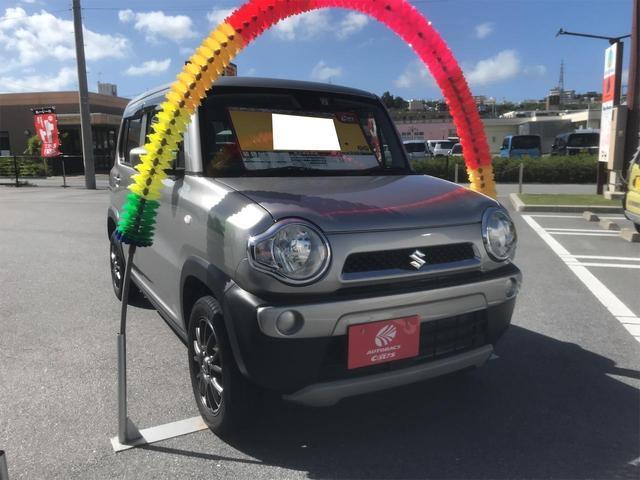 沖縄の中古車 スズキ ハスラー 車両価格 64万円 リ済込 2014(平成26)年 9.3万km シルバー