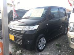 沖縄の中古車 スズキ ワゴンRスティングレー 車両価格 37万円 リ済込 平成21年 11.1万K スパークブラックパール