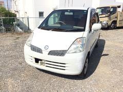 沖縄の中古車 日産 モコ 車両価格 15万円 リ済別 平成17年 5.4万K スノーパールホワイト