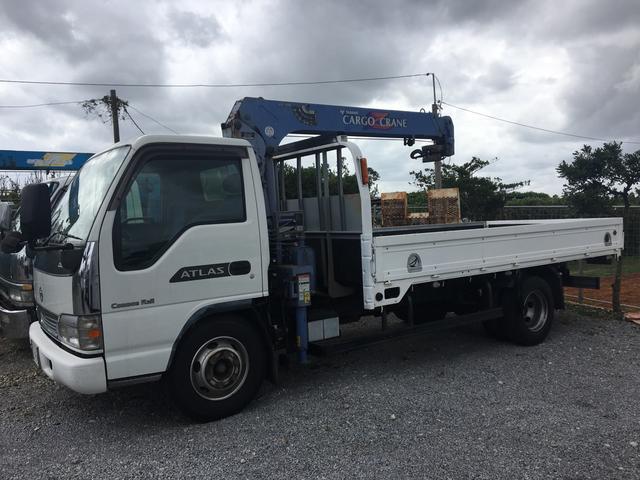 沖縄の中古車 日産 アトラストラック 車両価格 188万円 リ済込 2003(平成15)年 33.1万km ホワイト