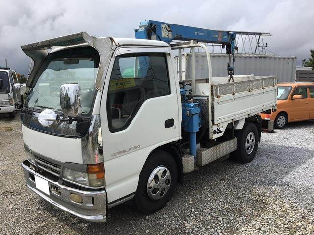 沖縄の中古車 いすゞ エルフトラック 車両価格 138万円 リ済込 1996(平成8)年 20.6万km ホワイト