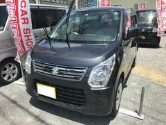 沖縄の中古車 スズキ ワゴンR 車両価格 62万円 リ済別 平成26年 6.5万K ガンMII