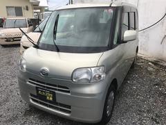沖縄の中古車 ダイハツ タント 車両価格 33万円 リ済込 平成20年 9.9万K ゴールド