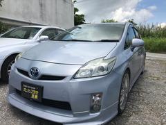 沖縄の中古車 トヨタ プリウス 車両価格 81万円 リ済込 平成21年 5.2万K ライトブルー