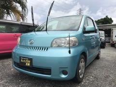 沖縄の中古車 トヨタ ポルテ 車両価格 22万円 リ済込 平成17年 11.0万K ライトブルー