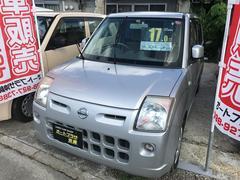 沖縄の中古車 日産 ピノ 車両価格 16万円 リ済込 平成19年 12.0万K シルバー